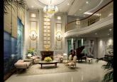 奢华大气欧式客厅装修效果图