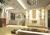 欧式现代风格复式楼装修效果图