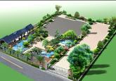 超豪华别墅庭院景观设计效果图