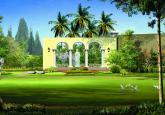 东莞某别墅生态花园景观设计效果图