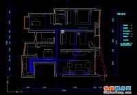 现代城室内装修设计图全套施工图附效果图