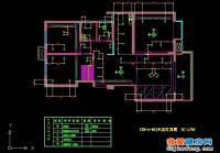 现代欧式混搭风格三室二厅装修施工图附加效果图