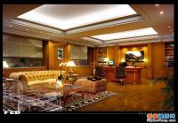 完整的会所型别墅全套装饰施工图纸及效果图 31m×16m