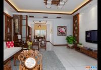 中式风格三室二厅装修设计施工图附效果图