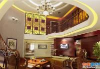 二层中式别墅全套装修设计施工图附加效果图