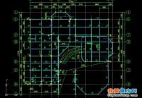 一套钢结构别墅结构施工图