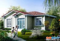 A03一层新农村房屋全套结构水电设计别墅图纸12m×9m