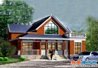 一层半个性别墅致小别墅全套建筑设计施工图纸13m×13m