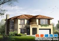 鄂尔多斯风格二层私人豪华别墅设计图纸17m×16m