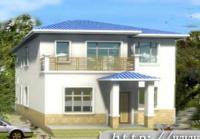 687二层新农村房屋全套建筑设计图纸10m×12m