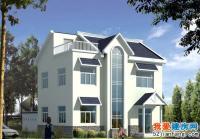 0881实用二层半新农村房屋住宅建筑设计图纸11m×12m