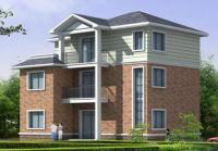 368三层带阁楼自建房屋别墅建筑全套设计施工图纸9m×11m