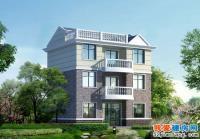 454三层优雅带车库小别墅房屋全套施工设计图纸11m×9m