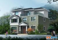 482漂亮实用120平米农村三层别墅全套设计施工图纸12mx10m