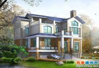 448三层农村现代小别墅设计图纸方案施工图14m×10m