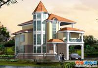 606碧水天源度假复式别墅设计全套建筑结构施工图13m×20m