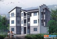 614三层新农村小康住宅房屋设计图方案14m×10m