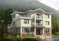 661三层新农村住宅小别墅全套结构水电设计图纸14m×9m