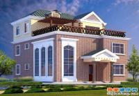B11某坡屋顶小别墅建筑结构全套设计图11m×12.5m