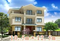 681经典三层实用别墅全套建筑结构设计图纸11m×13m