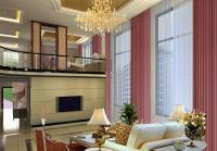 现代别墅客厅背景装修设计效果图