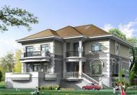 占地118平方米二层深圳别墅房屋建筑设计及效果图