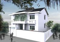 5203[设计竞赛]某农民节能抗震住宅房屋设计方案含效果图11m×11.5m