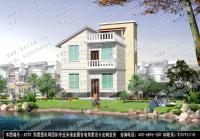 AT20二层半漂亮小别墅全套设计施工图纸8m×10m