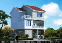 AT967三层新农村经典大方自建别墅设计图纸 10m×11m