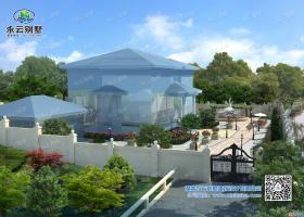 祁东1200平方米私家别墅花园庭院设计案例欣赏