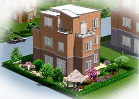 简洁大方私人别墅花园景观设计规划方案图纸