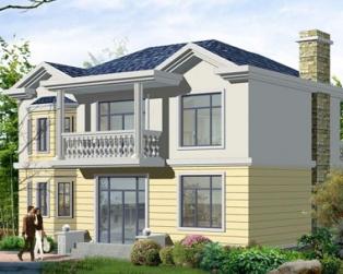 新农村建房推荐优雅小别墅设计图纸11m×9m