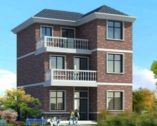 三层砖混结构农村自建房施工图纸9米×11米