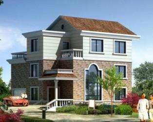 简约大方三层自建房别墅建筑设计施工图纸12米×11米