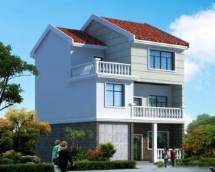 三层新农村经典大方自建别墅设计图纸 10米×11米