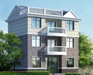 三层优雅简约带车库小康别墅全套设计图纸11米×9米