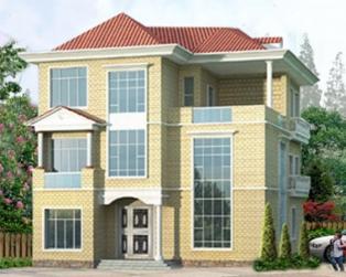 新农村三层私人豪华别墅全套设计图纸15米×17米