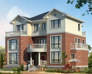 三层复式楼中楼别墅建筑结构施工设计全套图纸19米×13米