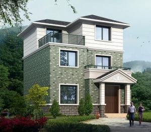 现代三层带露台乡村小别墅全套施工图纸8米×10.5米