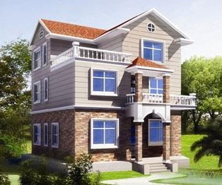 占地110平米现代欧式三层漂亮小别墅全套施工图纸10米×10米
