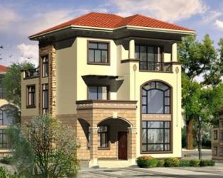 现代三层带车库小别墅全套设计图纸8米×13米