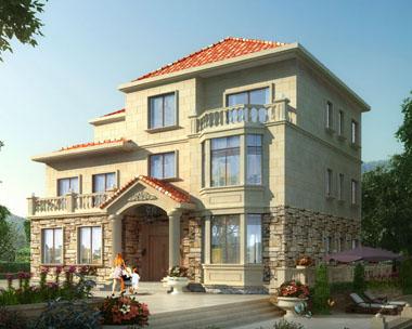 三层复式楼中楼带露台豪华别墅设计全套施工图纸15.8m×12m