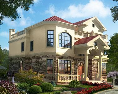 三层简欧风格小别墅设计图纸15米x14米