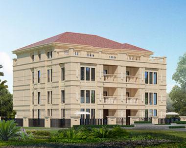 三层双拼豪华别墅全套施工图纸15.2m×13.2m