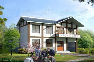 3款新中式别墅设计图,简约新潮,优雅含蓄,感受东方建筑的唯美