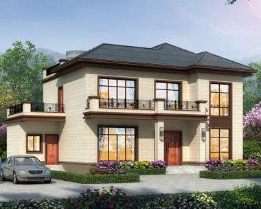 简约二层新中式风格别墅设计全套施工图纸11.9mX11.3m