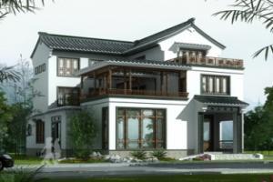 中国风别墅设计图