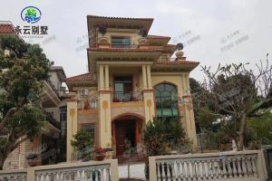 AT1738广东何女士占地120平米别墅实建图,实体豪华,非常气派