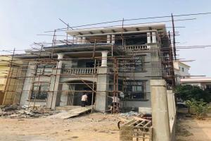 广东梅州谢先生三层别墅施工案例,清新简欧风,时尚有气质