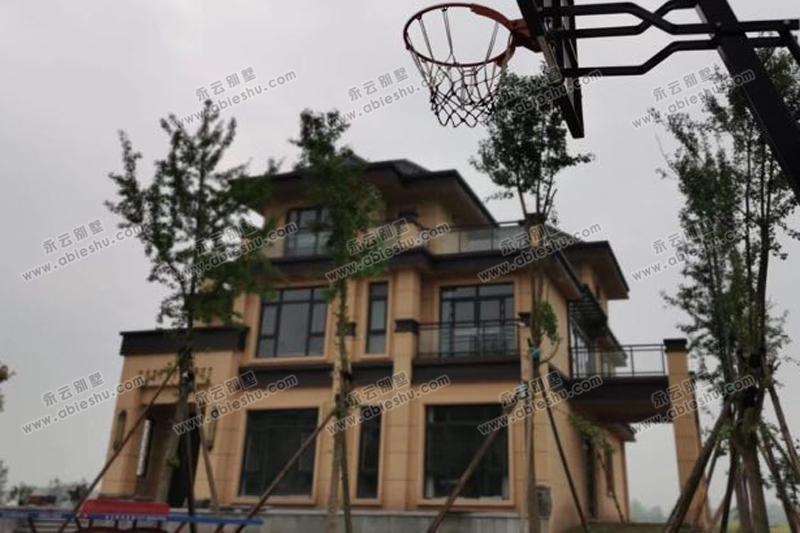 AT1778三层现代中式别墅,传统与现代的结合效果真不错